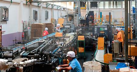 Fabrica Textil con sistema de climatización